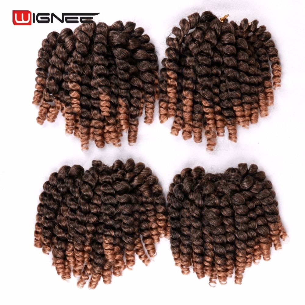 Wignee 8 ombrepure color synthetic curly senegalese twist wignee 8 ombrepure color synthetic curly senegalese twist braiding hair extension for africa pmusecretfo Choice Image