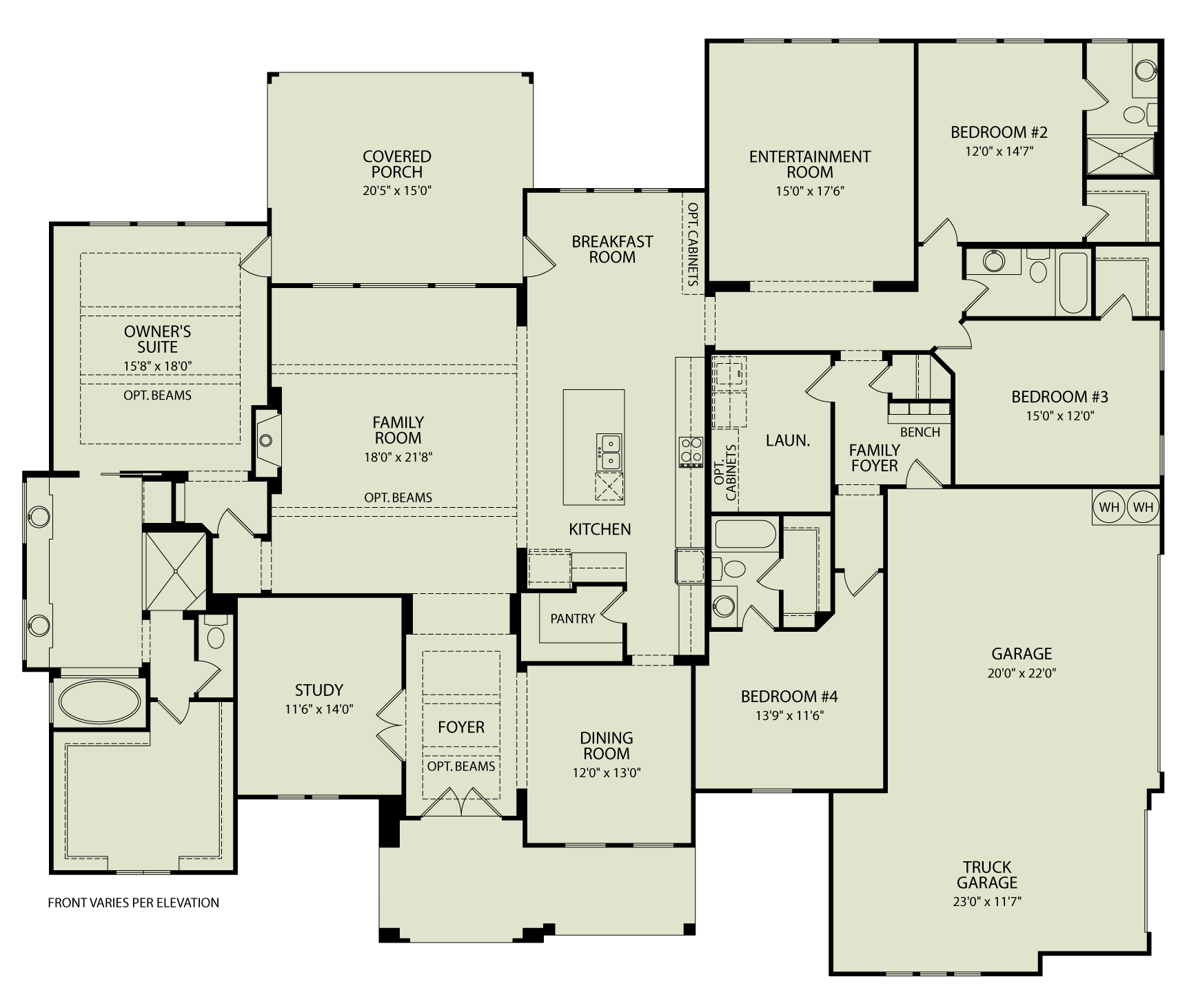 Channing 125 Drees Homes Interactive Floor Plans Custom Homes Without The Custom Price New House Plans Floor Plan Design House Floor Plans