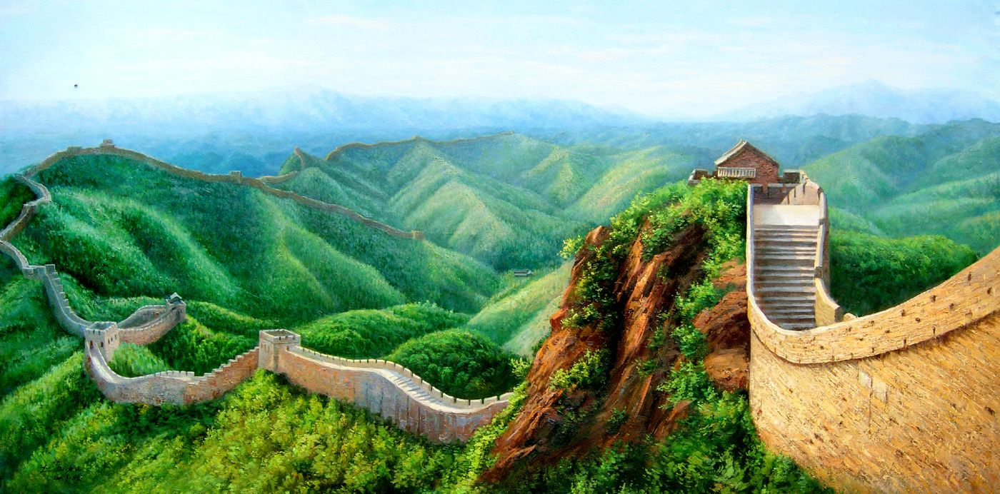 Great Wall Of China Wallpaper Wallpaperss Hd In 2019
