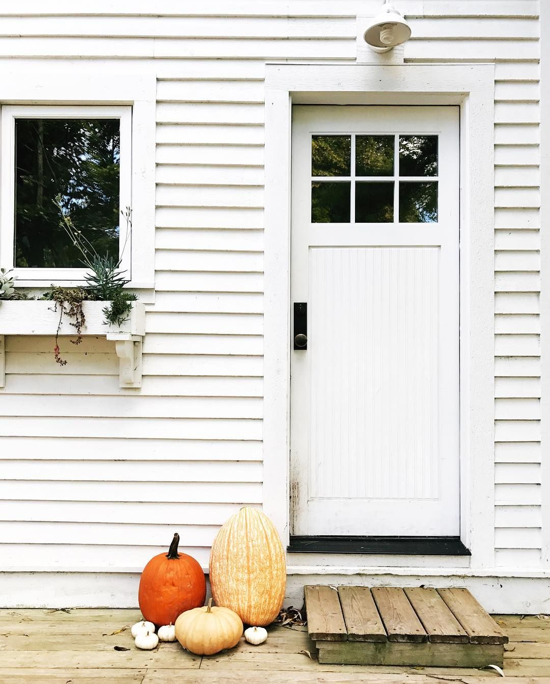 Hgtv Front Door Fall Decorations: Fall Front Door Inspiration. Farmhouse Style