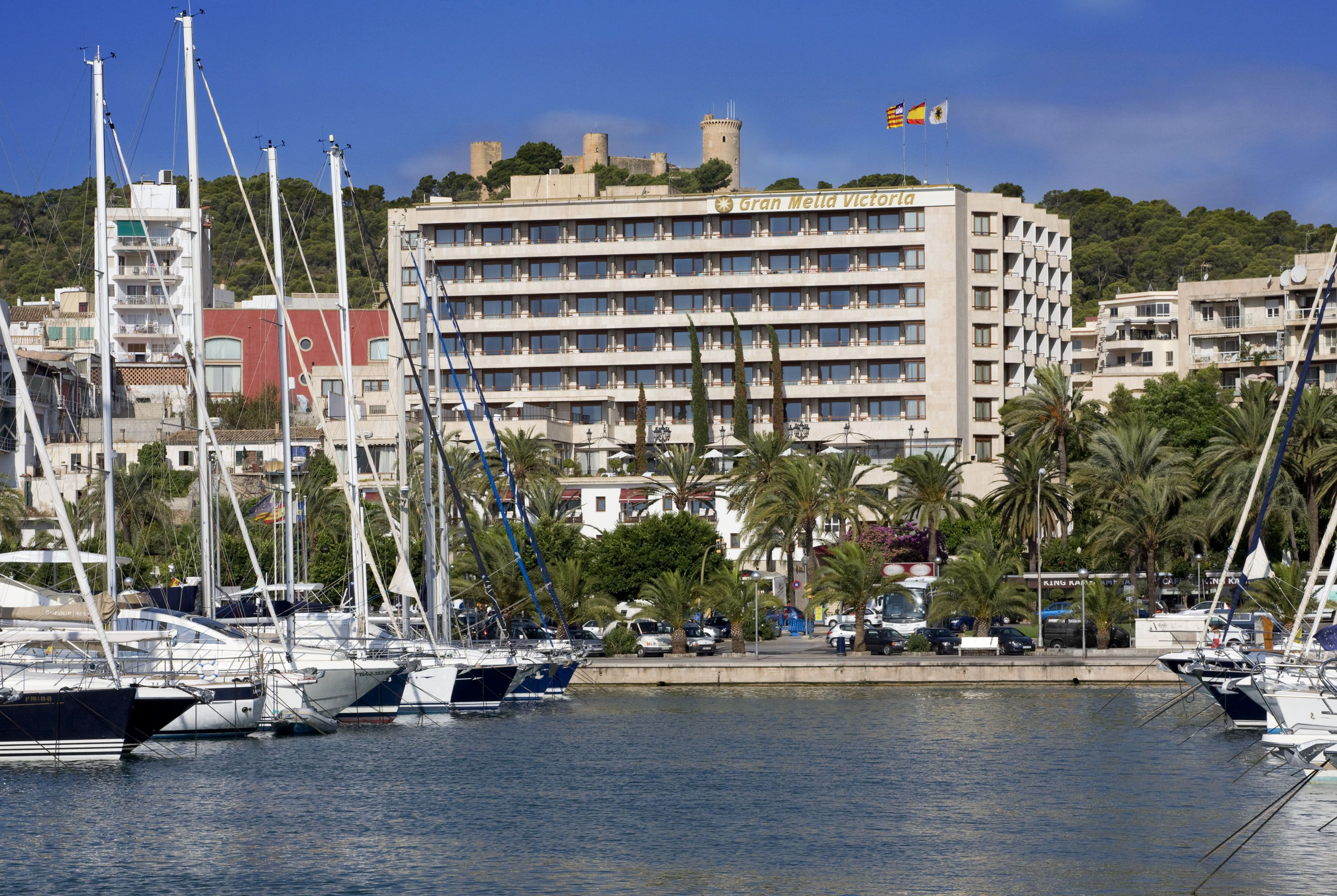 The Five Star Gran Meliá Victoria Is Located In The Heart Of The Paseo Marítimo And The Nautical Club And Near Elegant Restaurants Exclusive Boutiques And The