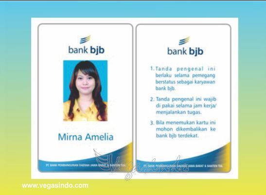 Id Card Bjb  Plastic Card    Plastic Card