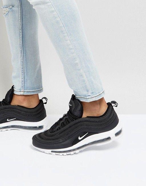 Nike air max 97 sneakers in black in 2019 | ♡shoes♡ | Nike