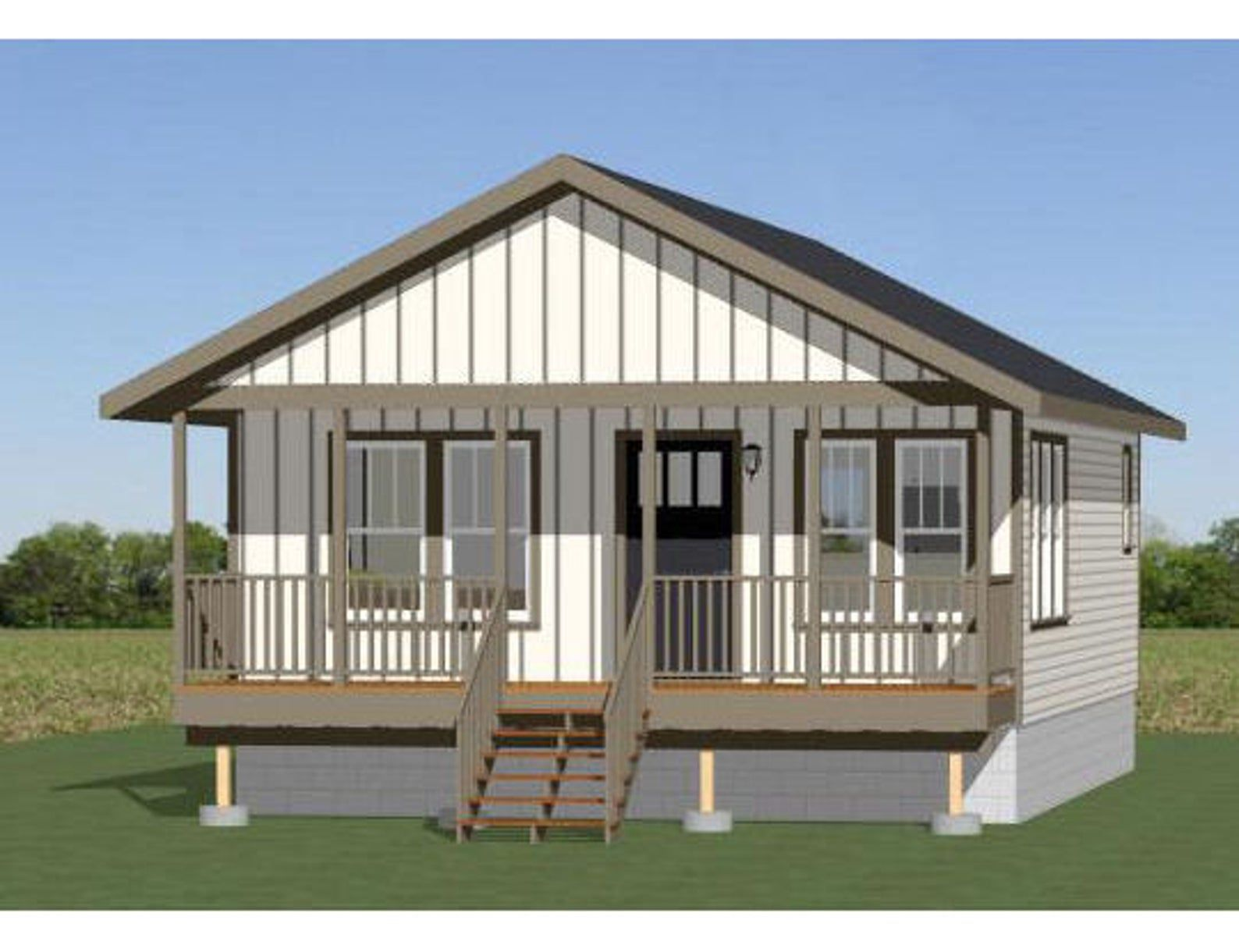 The Cabana Singlewide 1 Bedroom 1 Bathroom 607 Sqft Oklahoma Texas Newmexico Rbi36609 Manu Manufactured Home Modular Homes Manufactured Homes For Sale