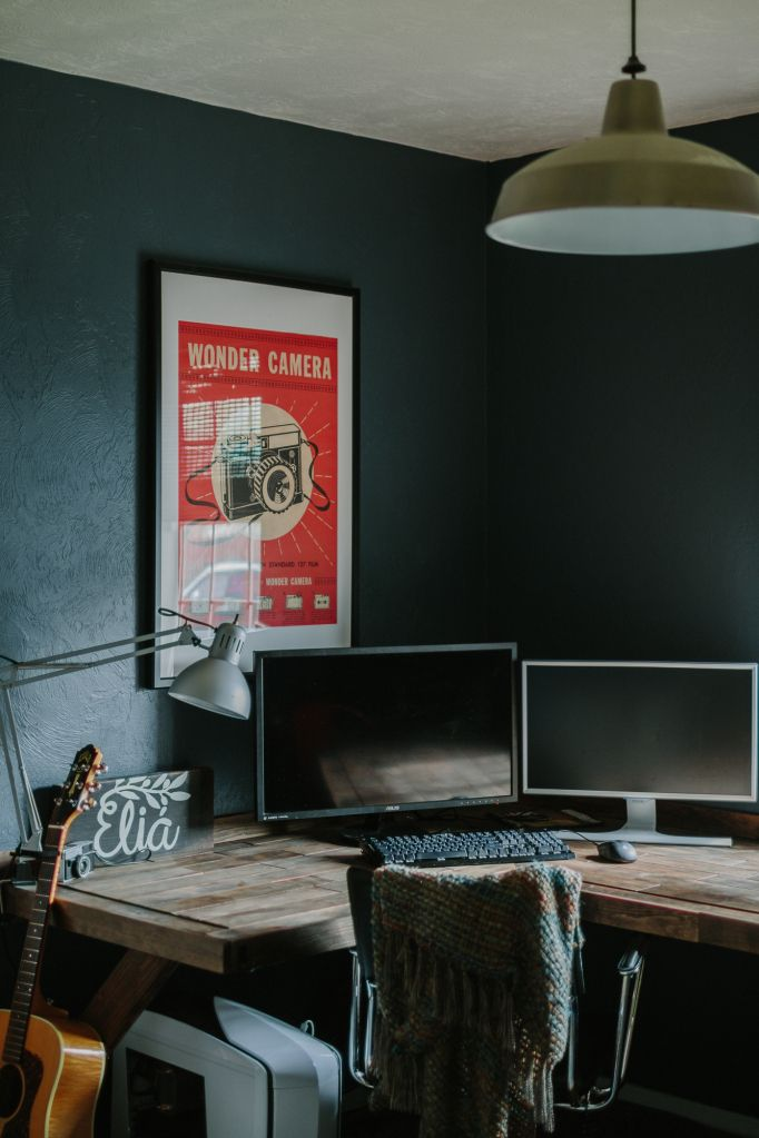 the office is finished modern office decor industrial on modern office paint schemes id=49378