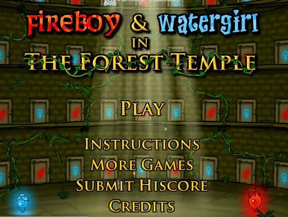 fire boy water girl free online game