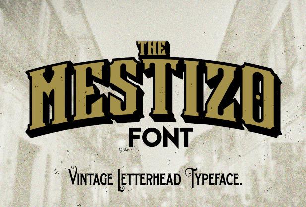 Mestizo Font   Free Web/Graphic Design Resources   Fonts