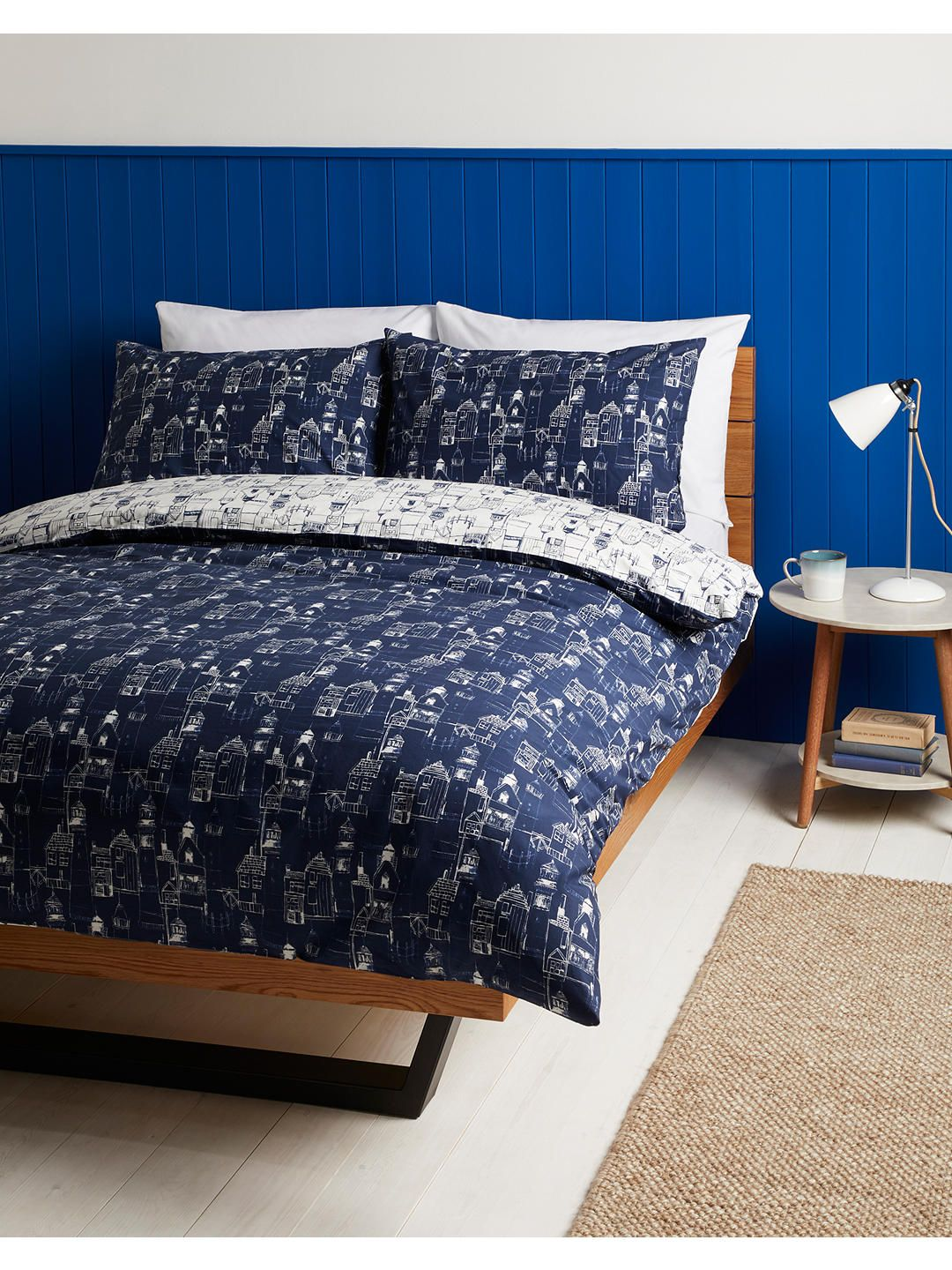 John Lewis & Partners Lighthouse Duvet Cover Set
