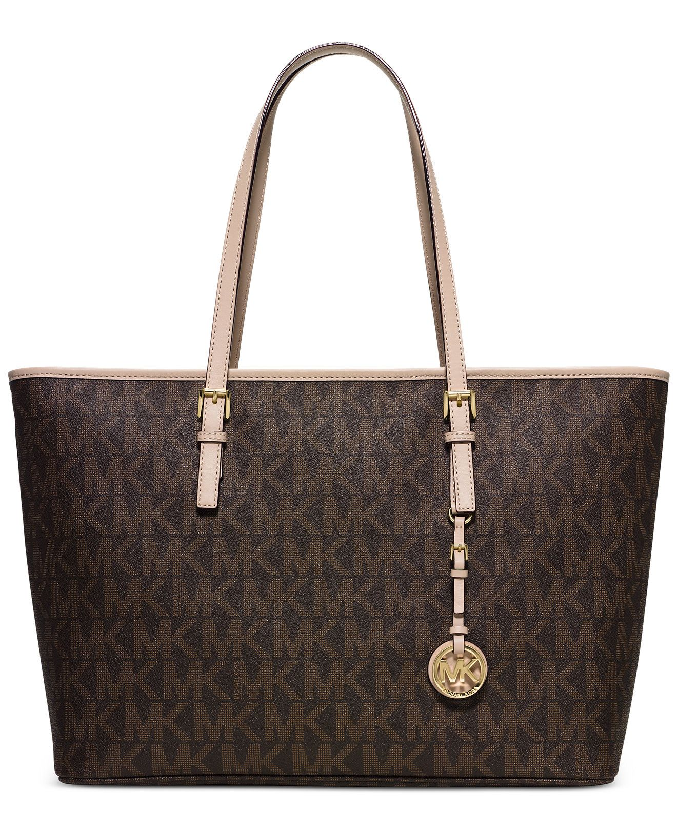 MICHAEL Michael Kors Jet Set Travel Medium Top Zip Multifunction Tote -  Handbags & Accessories -