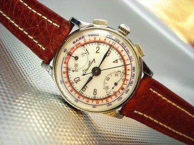 b7114a079ec4 Breitling Men Vintage Wrist Watch Very Good Collectible 1942