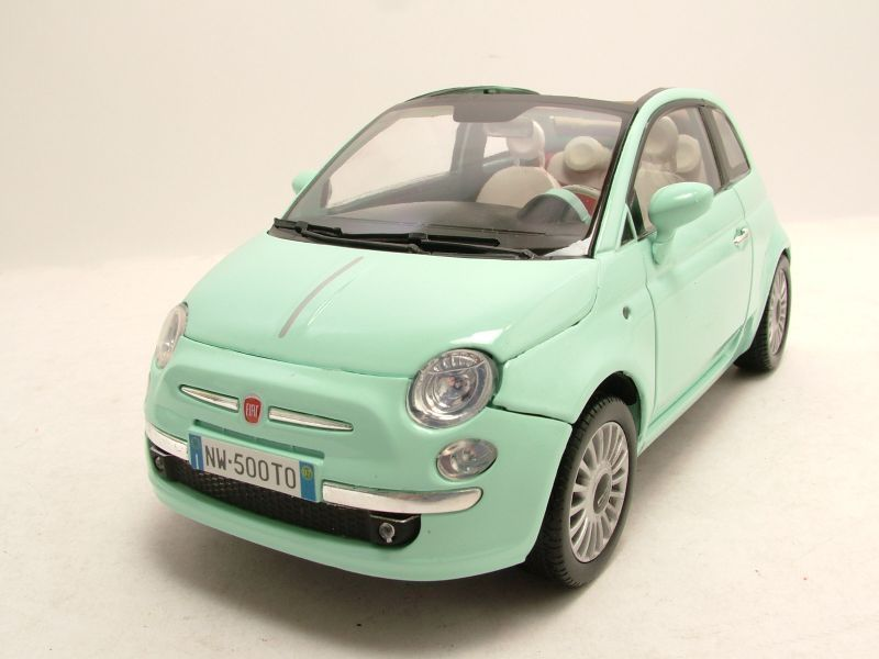 fiat 500 cabrio 2007 mint modellauto 1 18 motormax cars pinterest fiat 500 cabrio fiat. Black Bedroom Furniture Sets. Home Design Ideas