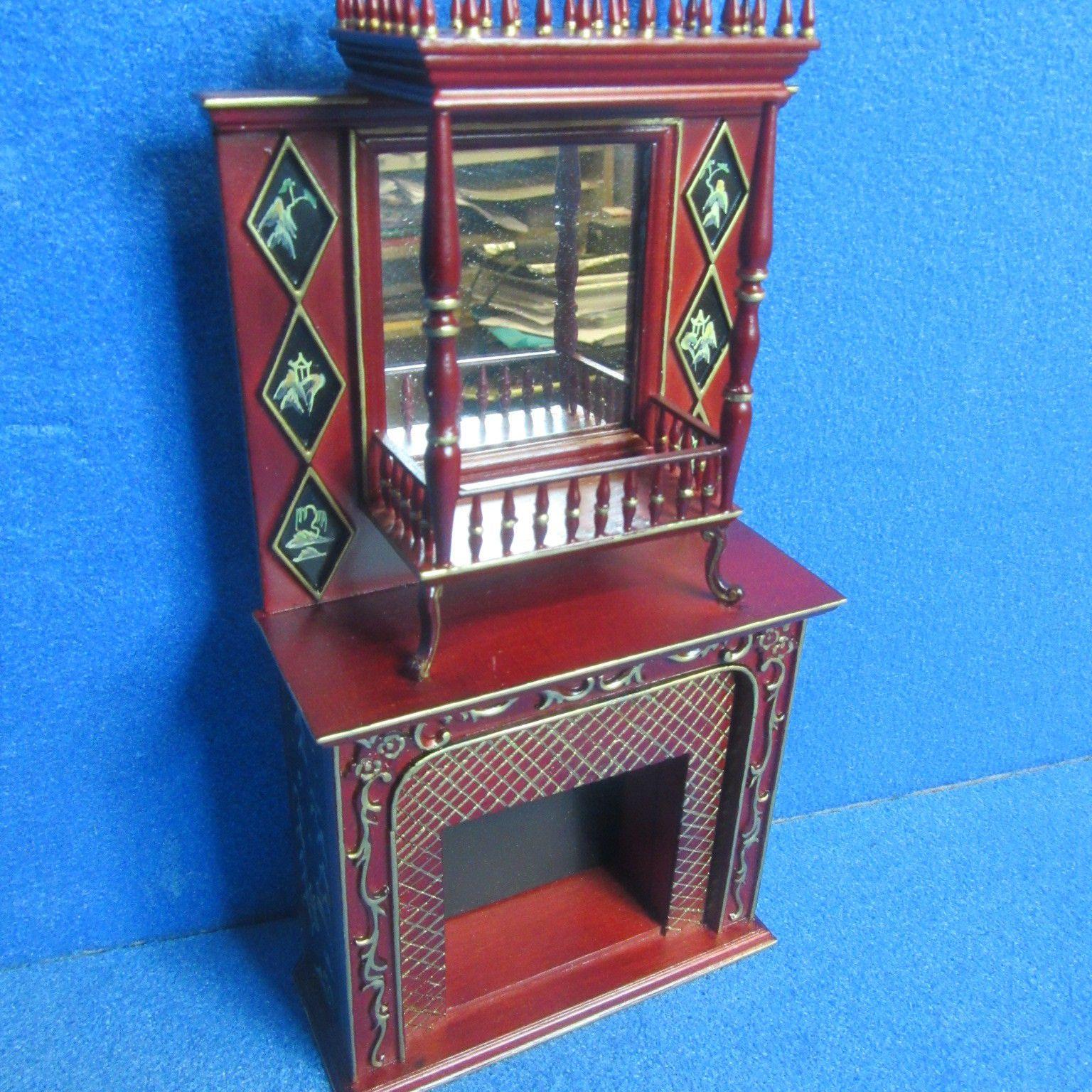 Dolls House Furniture Fireplace JiaYi CA014 03   EBay