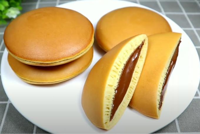 Resep Dorayaki Teflon Praktis Coklat Keju Kue Asli Jepang Kue Camilan Resep Kue