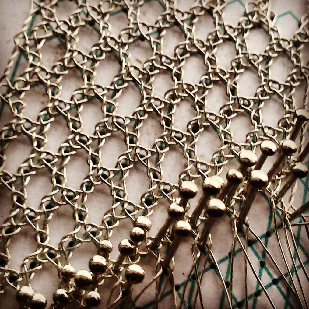 30 Gauge Sterling Wire Rosengrund Rosengrund Roseground Bobbinlace Silver Wirejewelry Kloppelschmuck Kloppelkunst Wirebobbinlace Wire Rosen Instagram