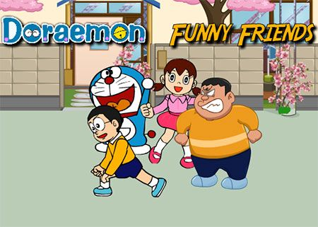 online games for kids free of doraemon to play