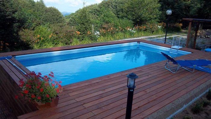 Piscina fuoriterra intex 732 x 366 x 132  Idee piscina  Pinterest  Idee