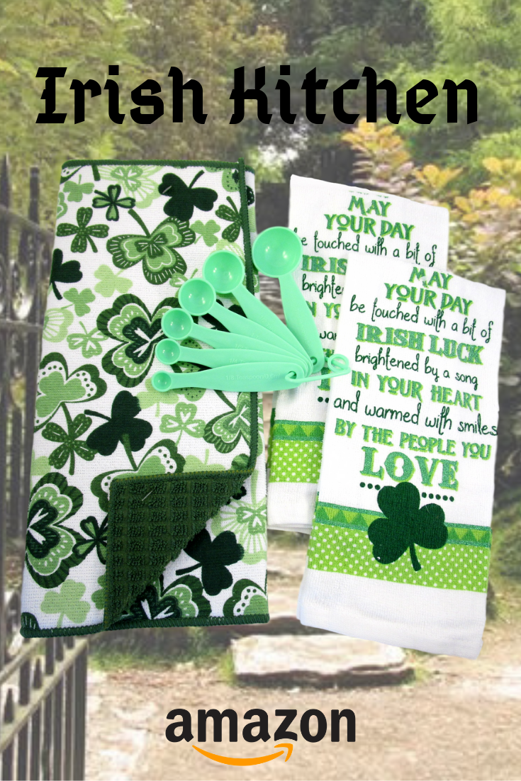 St Patrick S Day Kitchen Gift Sets Dish Towels Oven Mitts