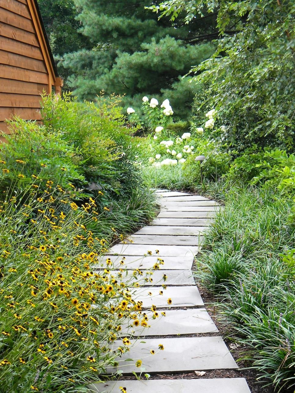 Pictures of garden pathways and walkways | Pathway landscaping, Landscape  design, Modern landscaping