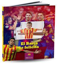 Messi, Puyol, Neymar,  Xavi... todos los jugadores del Barça te desean feliz cumpleaños. Celebra tu cumpleaños más especial junto a los cracks del FC Barcelona  Desde 23,90 € o $31,80 el álbum + eBook #album #regalo #niños #infantil #FCBarcelona
