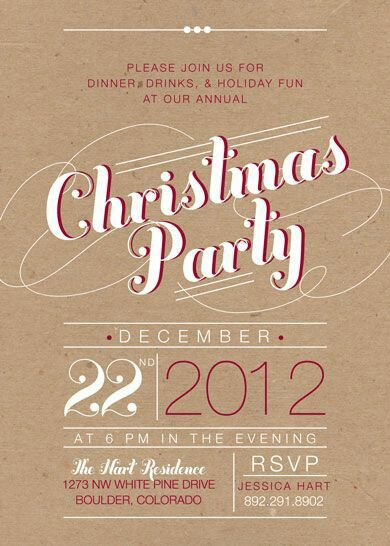 Pin by Brooke Snyder on LLS Invitation Pinterest Holidays