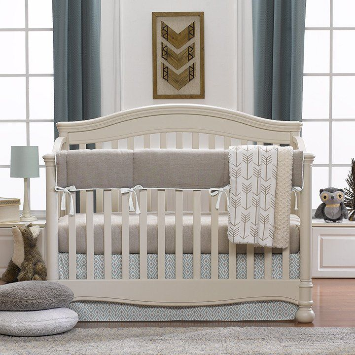 Liz And Roo Taupe Amp Aqua Archery Bedding Create Your Own