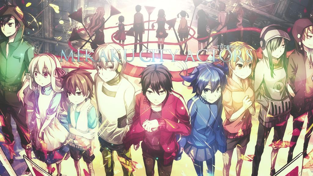 Mekakucity Actors Wallpaper By Totoro Gx On Deviantart Anime Kagerou Project Manga Cute