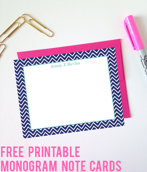 Make Your Own Monograms Using Our Free