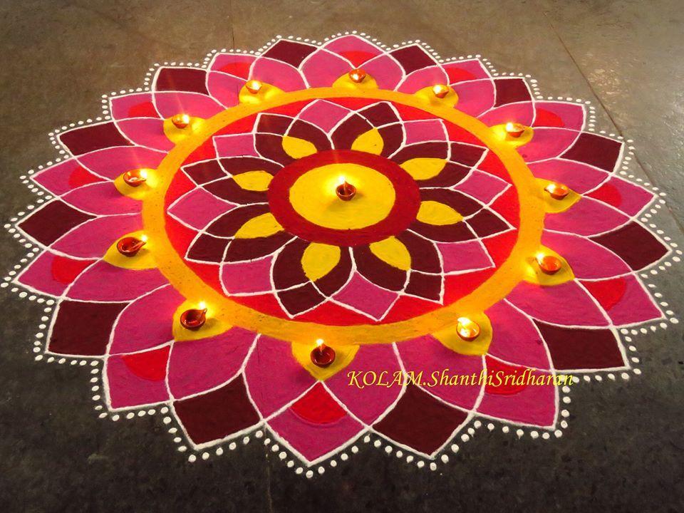 Rangoli for Competition Rangoli designs diwali, Rangoli