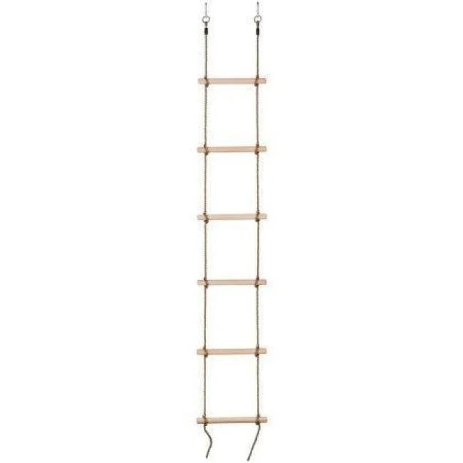Swingan 6 Steps Gymnastic Climbing Rope Ladder Fully Assembled Sw Wlr In 2020 Rope Ladder Climbing Rope Ladder