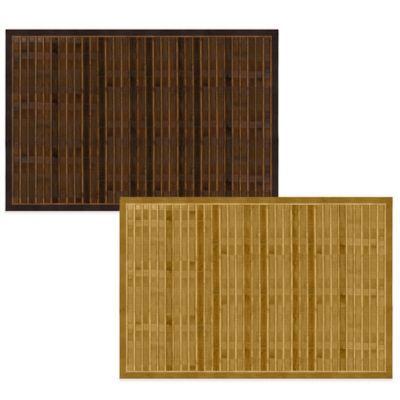 Bamboo 4 Foot X 6 Foot Floor Mat Bedbathandbeyond Com