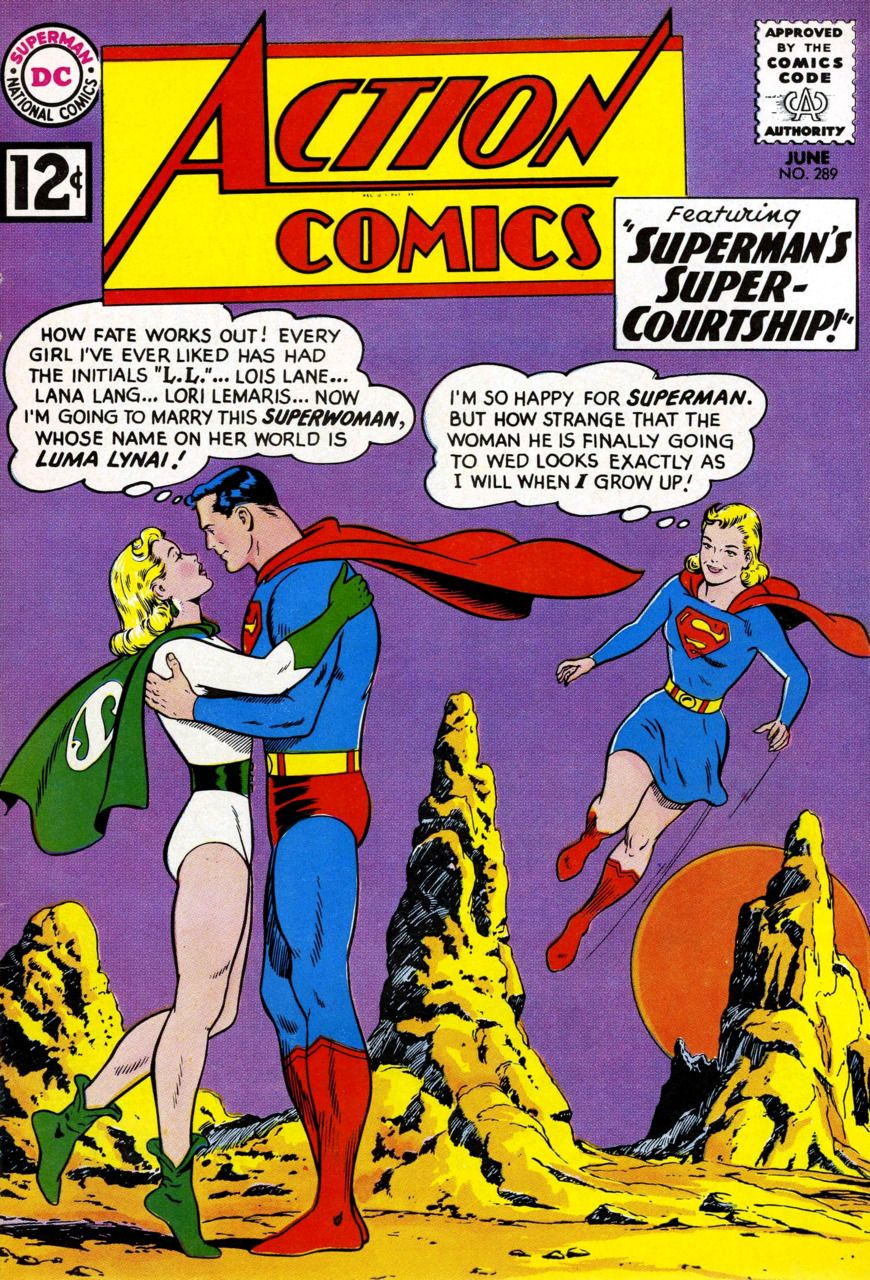 Action Comics #289 - Cover by Curt Swan