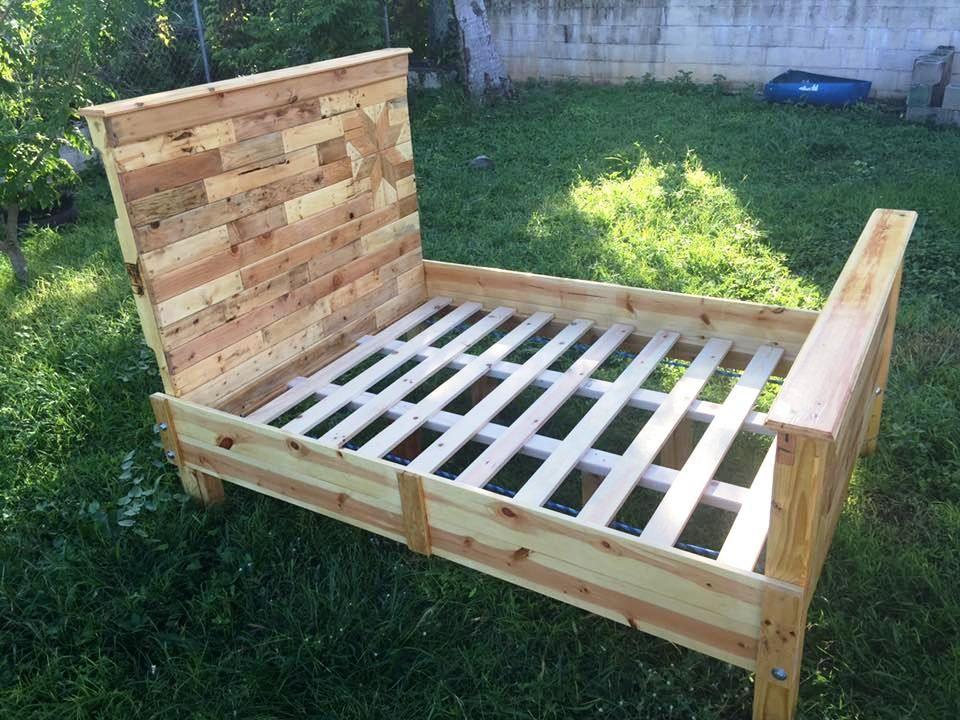 Photo of DIY Pallet Bed Frame for Your Bedroom