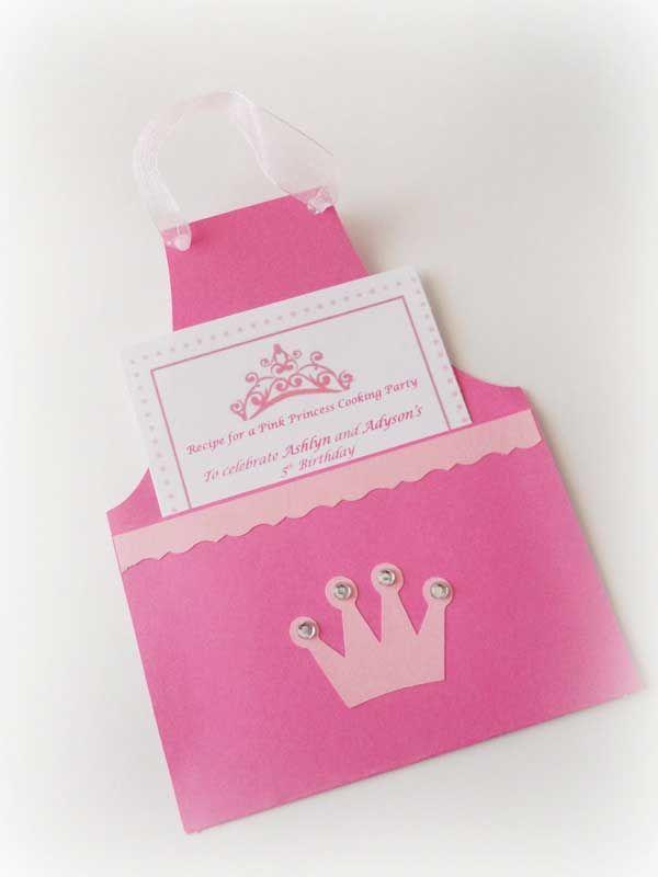 Invitaciones Para Una Fiesta Temática De Princesas Hacer
