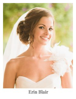 Romantic Bridal Hair Textured Side Updo With Veil Hairstyle By