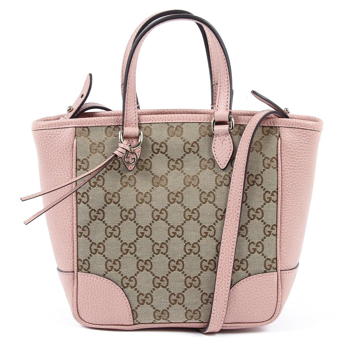 39c951c35e6 Gucci Womens Handbag GG Guccissima Pink 449241 8609