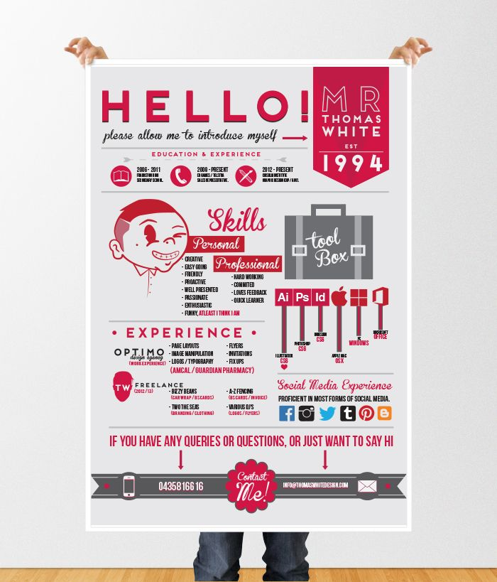 graphic #resume #design Create original resume for free at www - advertising graphic designer resume