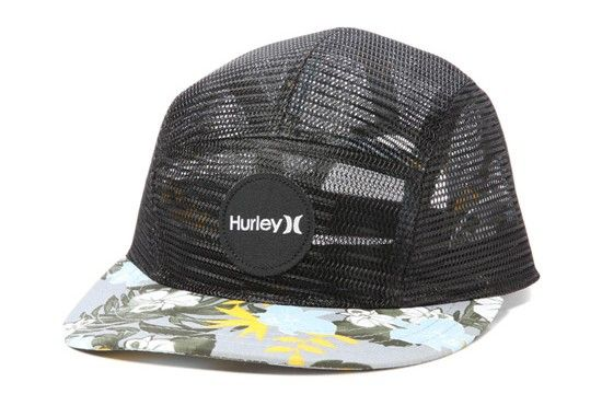 d9f71b6467d96 Cap HURLEY Snapback (5 Panel) The Cali Camper Hat Black