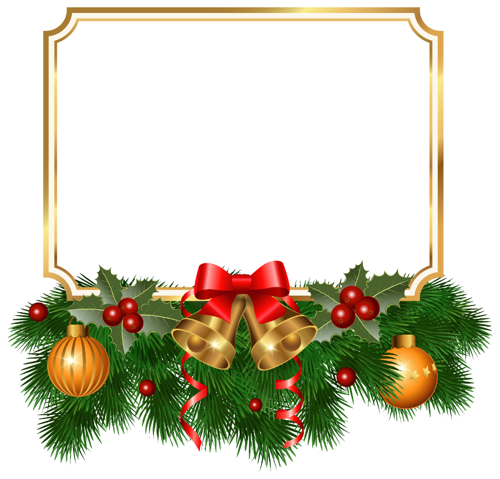 Christmas Golden Border Png Clipart Image Gallery Yopriceville High Quality Images And Transparent Free Christmas Borders Christmas Border Christmas Labels