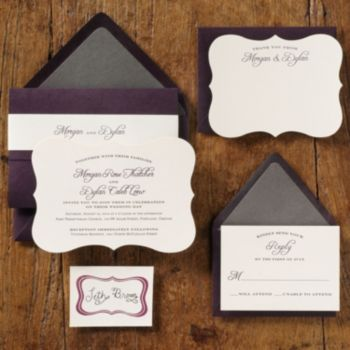 Wedding Invitations - Embossed Wedding Invitations | Paper Source