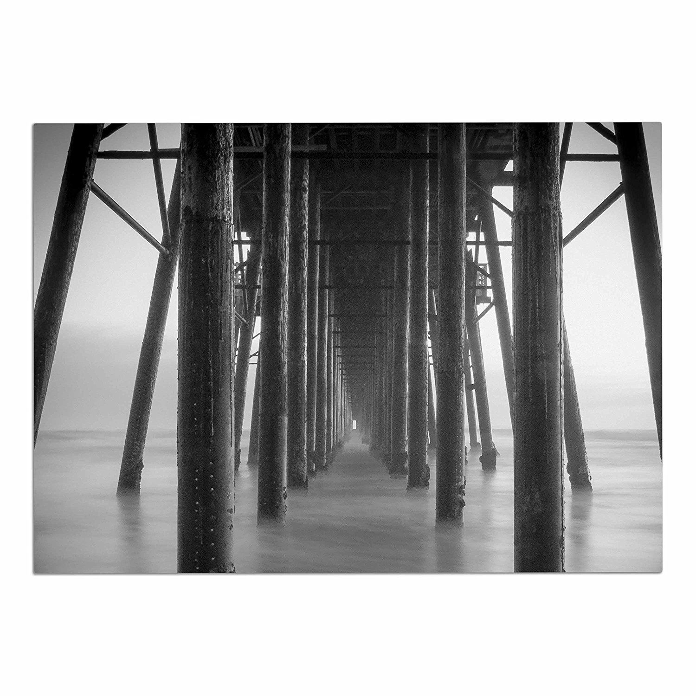 60 x 40 Fleece Blankets Kess InHouse Alison Coxon Just Explore Things Green Photography Throw