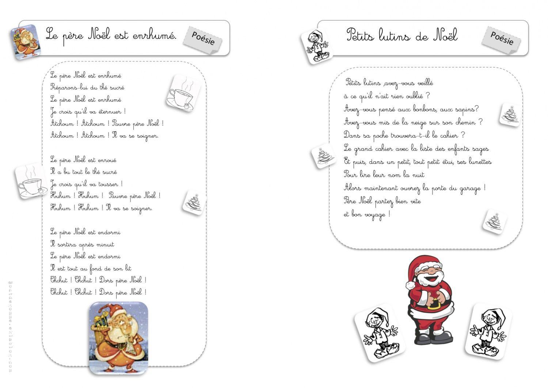Po sies de no l no l french christmas noel et school - Christmas cycle 3 ...