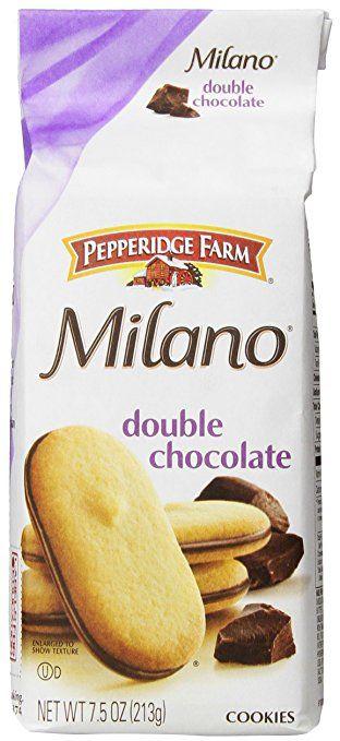 Pepperidge Farm Milano Cookies - Double Chocolate - 7.5 oz
