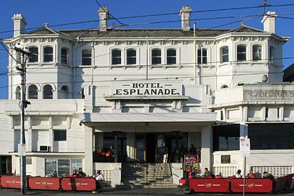 The Esplanade Espy Hotel In St Kilda Victoria Australia Melbourne Australia Historic Hotels