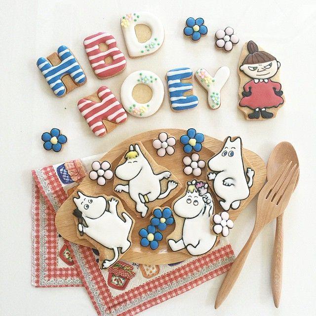 ใกล้วันหยุดยาวแล้ว ไปเที่ยวไหนกันบ้างค้า? ใครไม่ไปไหน ก็มาสั่งคุกกี้กันน้าา  ไลน์ petitefillebyjj, jajung  #คุกกี้ส่งไปรษณีย์ได้นะค้า #petitefillebyjj #customcookies #moomin