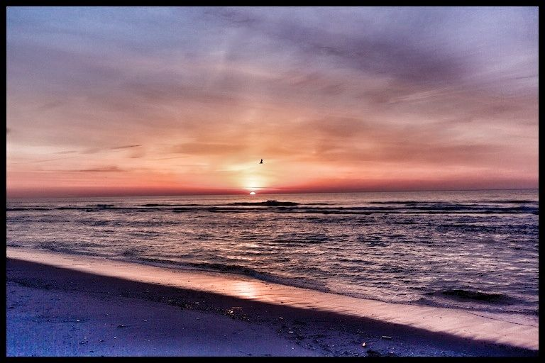 Sunrise at the Jersey Shore