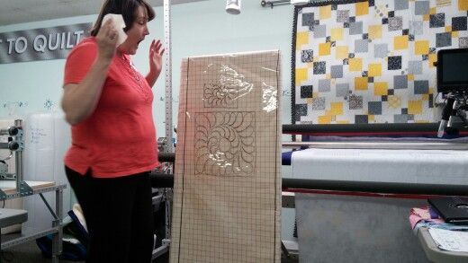 Class at Jo 's quilting