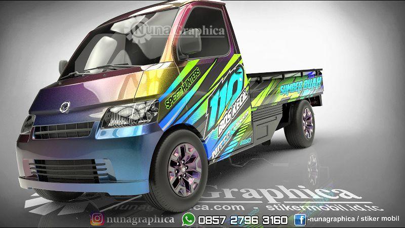 Kami Spesialis Decal Print Sticker Mobil Mengerjakan Dari Konsep Design Sampai Ke Pemasangan Hasil Cetak Highres Dengan Mesin Ter Daihatsu Stiker Mobil Mobil