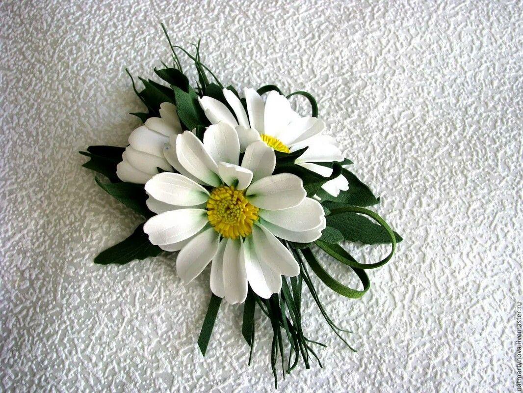 фоамиран цветы мастер класс фото иметь округлый вид