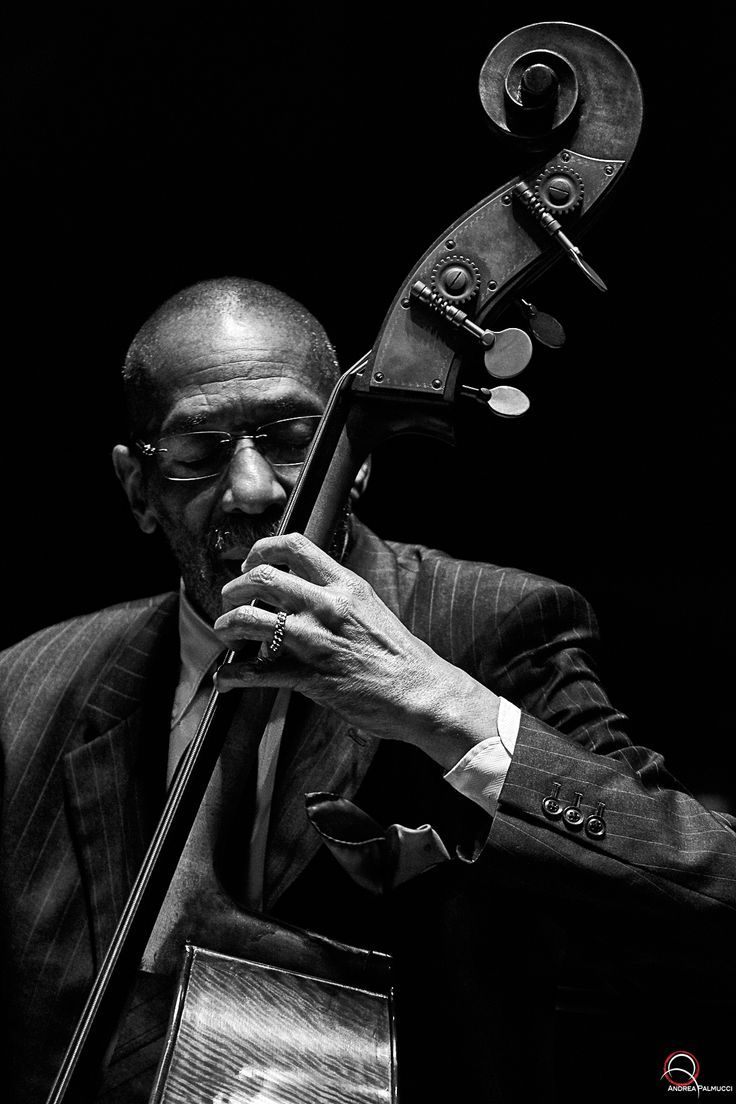 """""""Ron Carter"""" by Andrea Palmucci - Jazz Photo"""