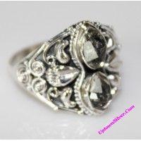 Artisan Jewelry Genuine Herkimer Diamond Gemstone 925 Sterling ..